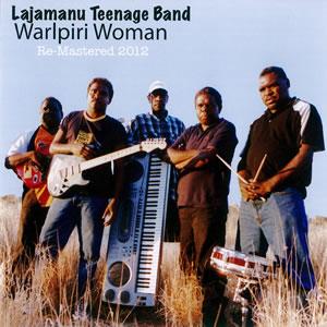 Warlpiri Woman - Lajamanu Teenage Band