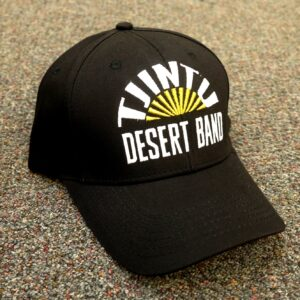 Tjintu Desert Band Cap - Black